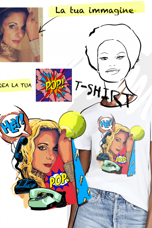 creazione t-shirt